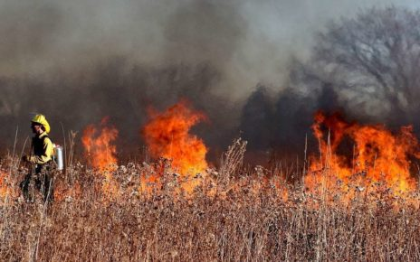Not Just BC, Wildfires Rampant In Manitoba