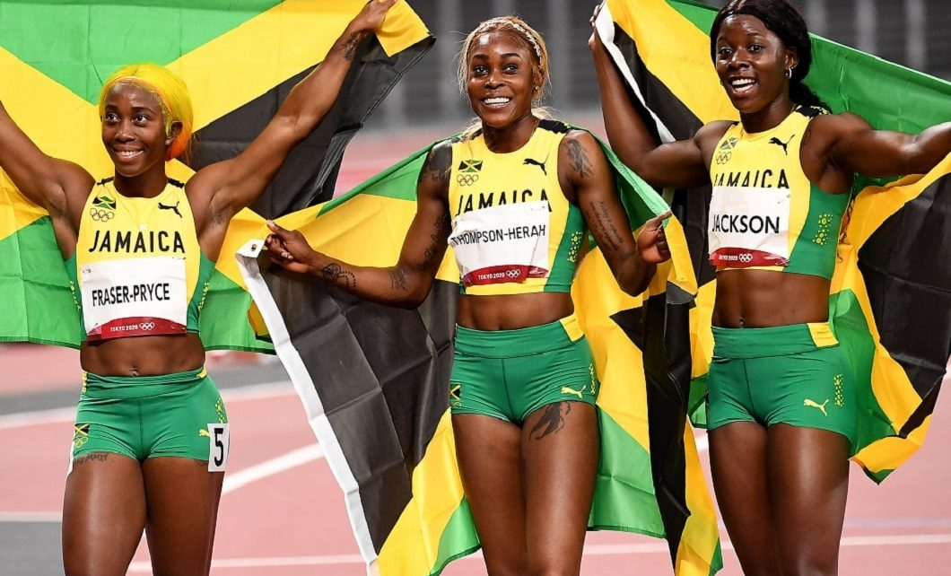 Jamaican Women 100M Sprinters, The Greatest Of All