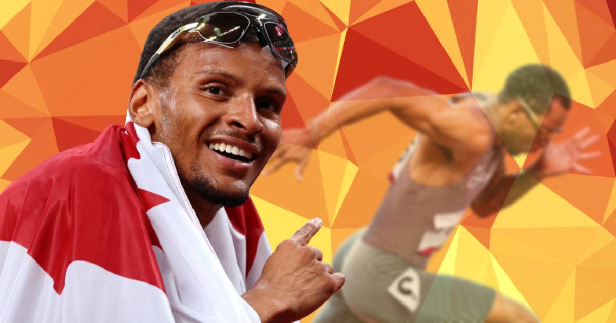 Canadian Andre De Grasse Wins Gold In the Olympic 200-M