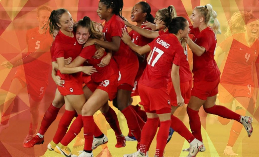 Canadians Wins Gold in Olympic Soccer 2020
