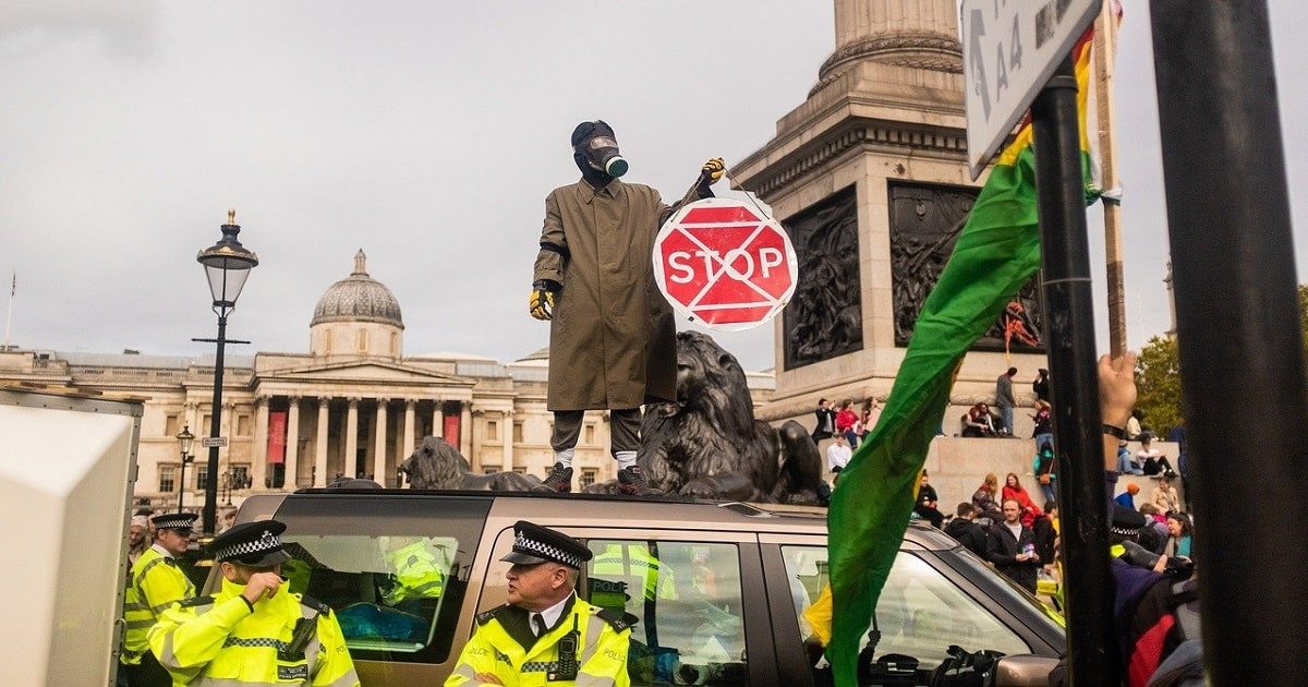 Climate Activists Will Now Be Charged For Erecting Illegal Road Blocks